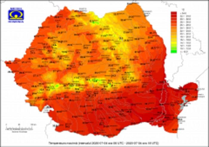 Vremea în iulie 2020. ANM anunță temperaturi neobișnuite. Prognoza până pe 3 august