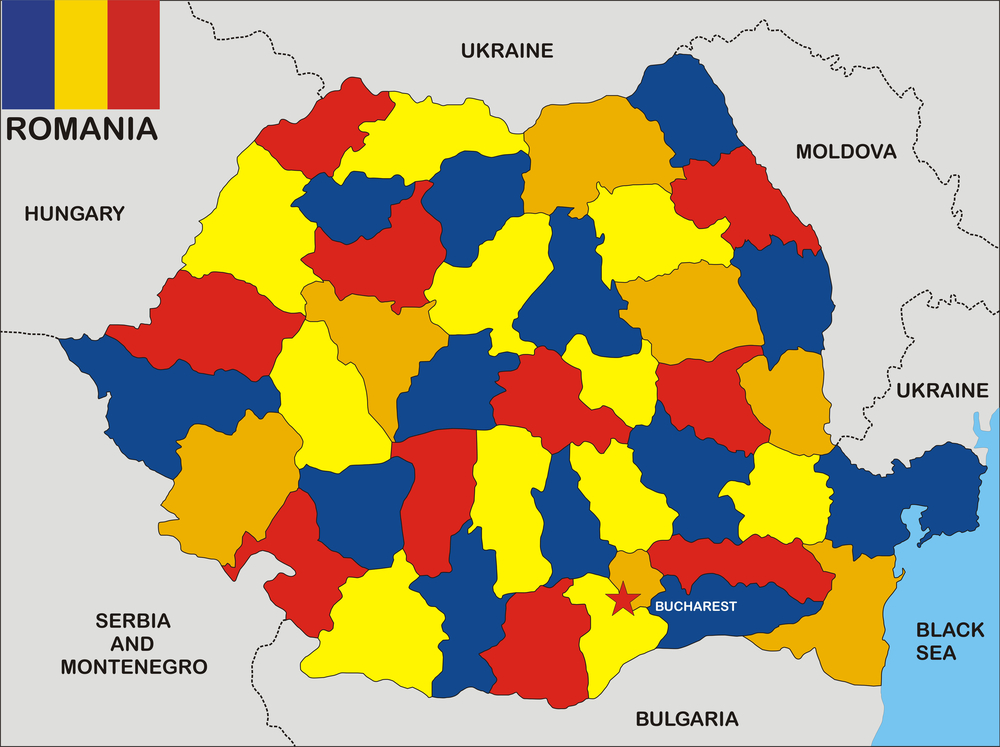Coronavirus România, pe județe. Cele mai multe cazuri noi au fost raportate în Capitală