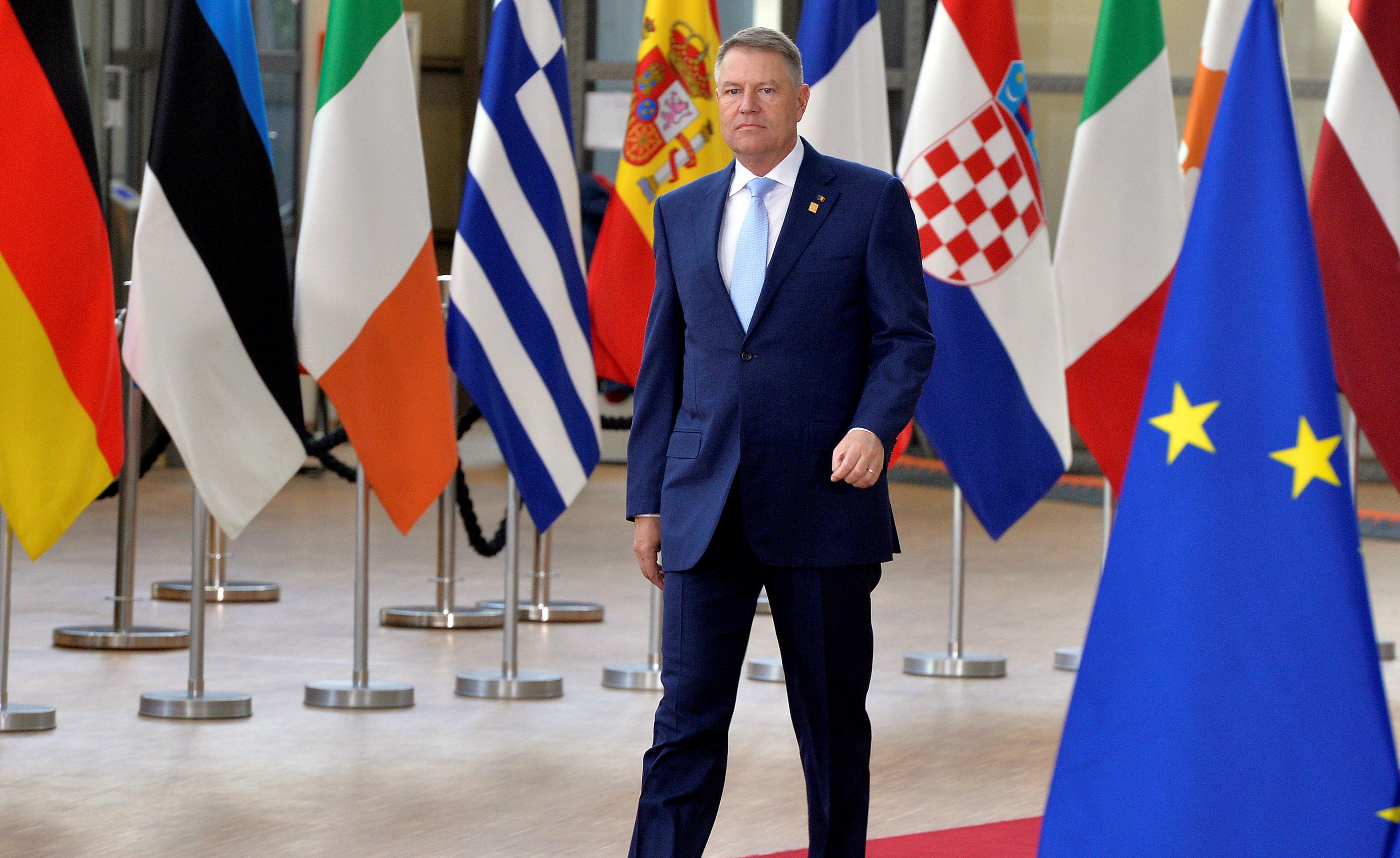 Klaus Iohannis participă la reuniunea Consiliului European la Bruxelles. Care sunt subiectele de discuție