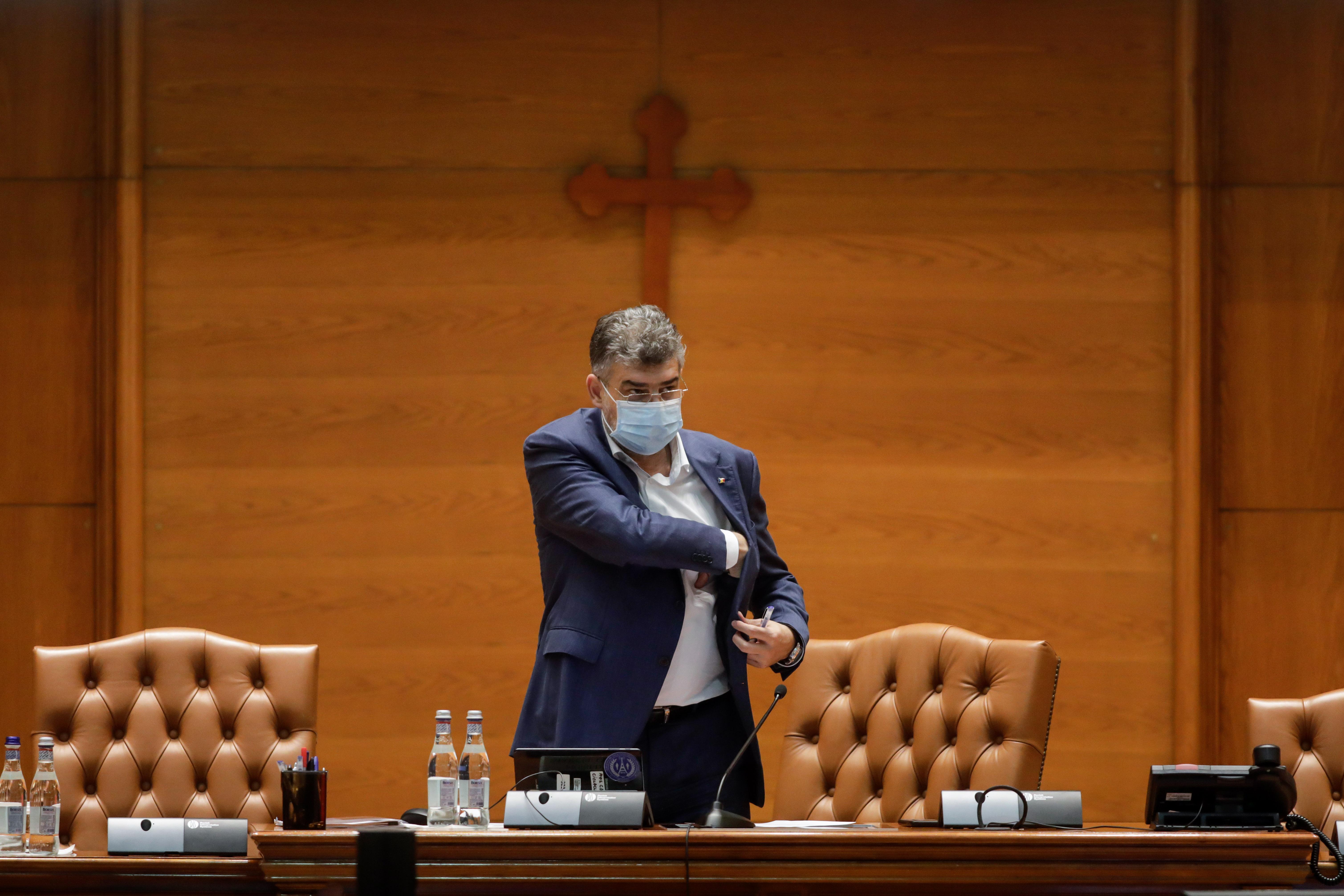 Marcel Ciolacu: Guvernul Orban trebuie să plece pentru că a eşuat să atragă cetăţenii de partea sa