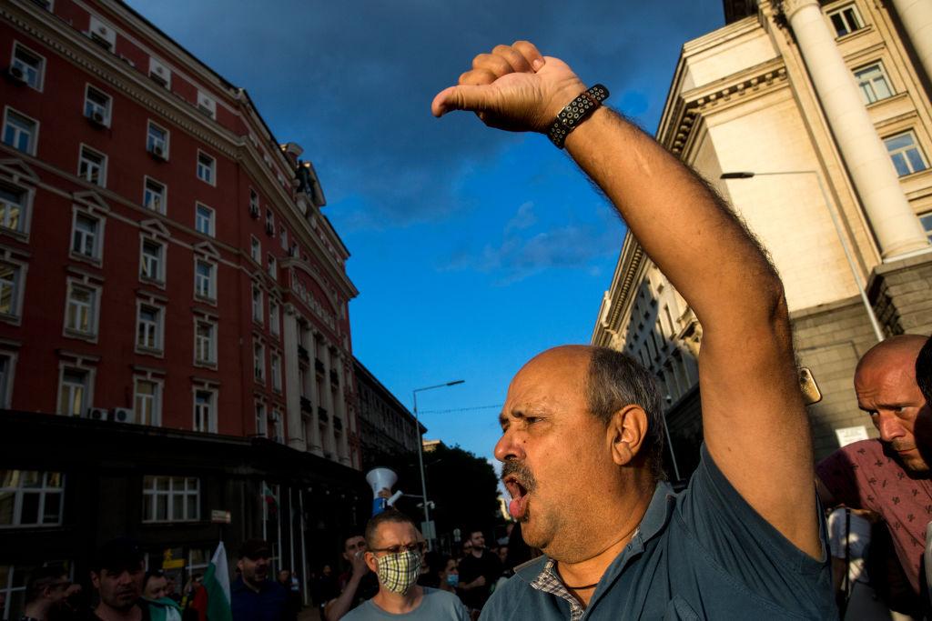 Protestele la adresa premierului bulgar continuă la Sofia. Gestul sfidător făcut de Boiko Borissov