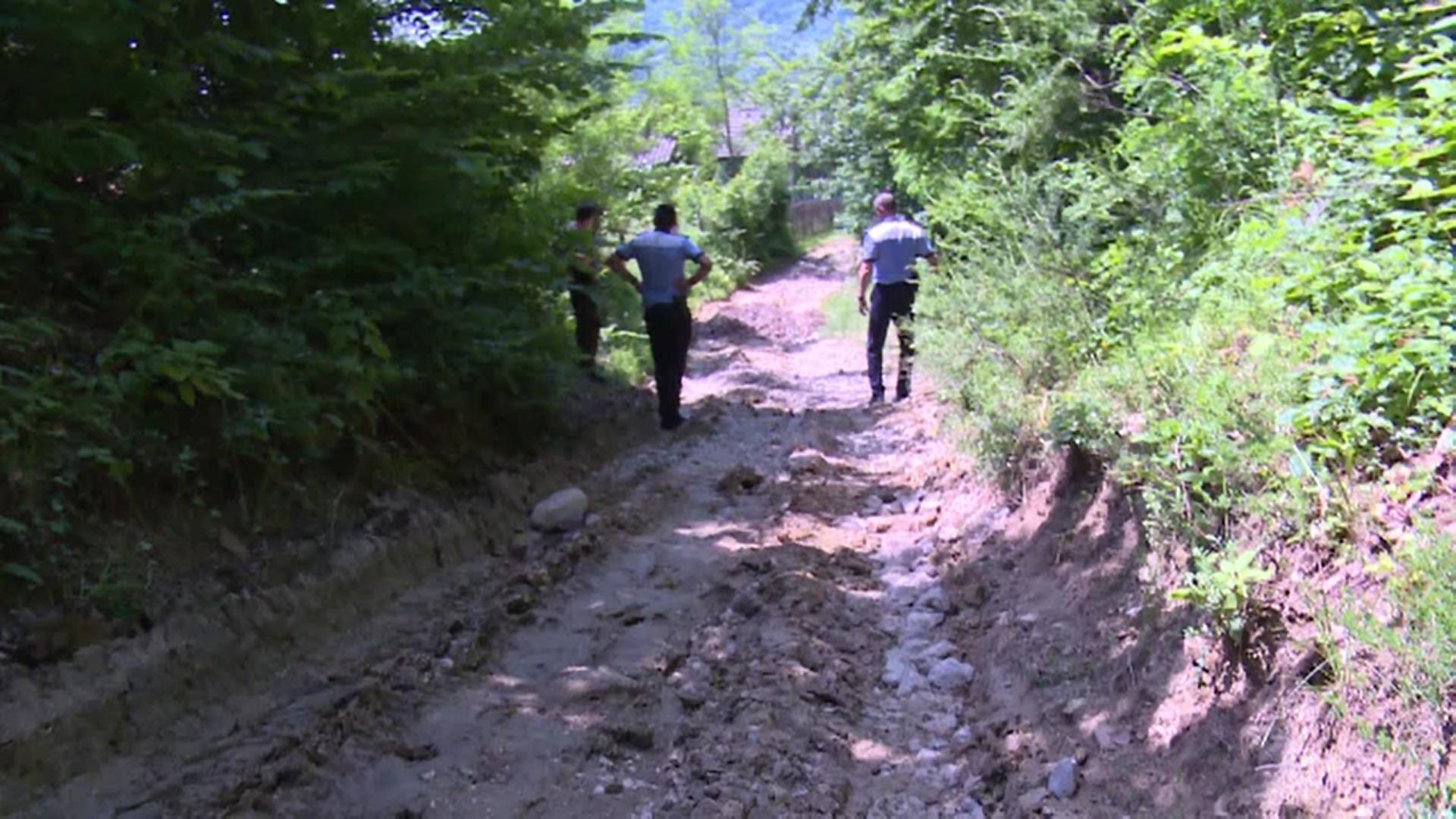 Un bărbat de 72 de ani din Dâmbovița a ajuns la spital după ce s-a prăbușit cu ATV-ul într-o râpă adâncă