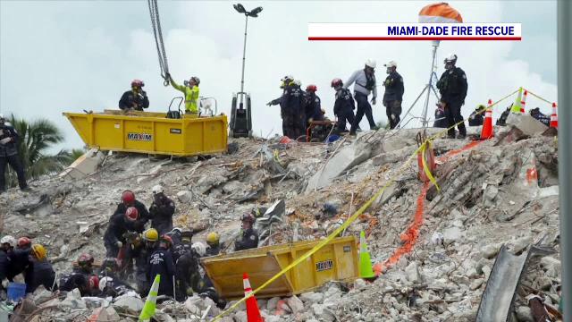 Căutările continuă printre rămășițele blocului din Miami. 120 de persoane sunt încă dispărute