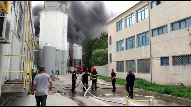 """Încă o explozie, urmată de incendiu, a avut loc la Constanța: """"Eram în trecere și am auzit 5-6 bubuituri"""""""