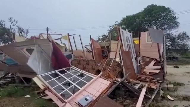 Uraganul Elsa a făcut ravagii în Republica Dominicană, Barbados și Haiti. În Haiti nu mai sunt stocuri de alimente