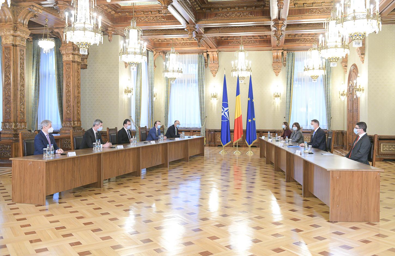 """Iohannis începe consultările cu liderii politici pe tema proiectului """"România Educată"""""""