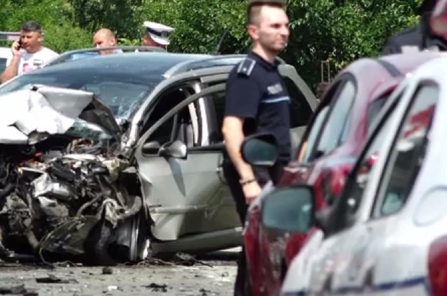 Accident grav în Bistrița Năsăud: O femeie însărcinată a murit
