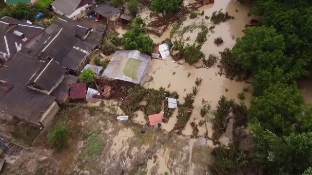 Inundații de proporții în Crimeea și pe litoralul rusesc al Mării Negre