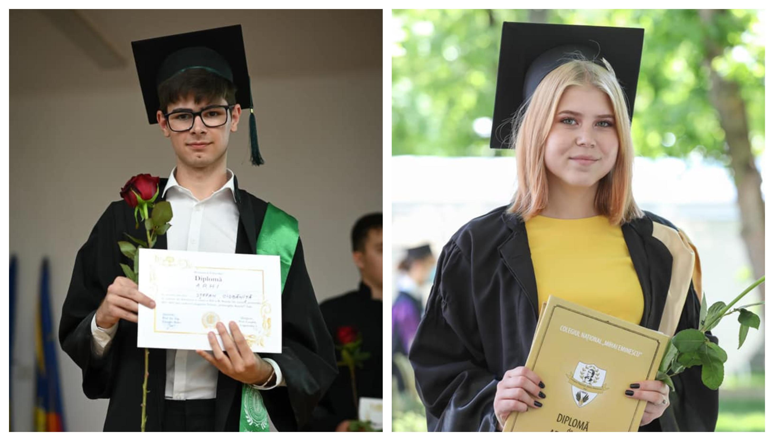 Doi elevi dintr-un centru de plasament au obţinut printre cele mai mari medii la Bacalaureat, în Iași