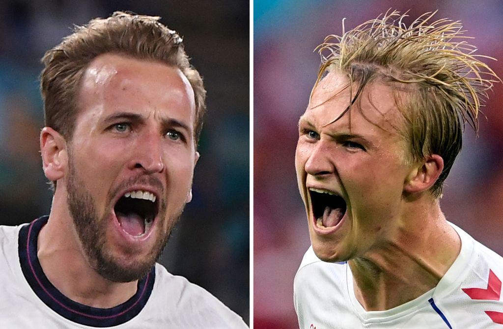 Anglia s-a calificat în finala EURO 2020, după ce a învins Danemarca în prelungiri (2-1)