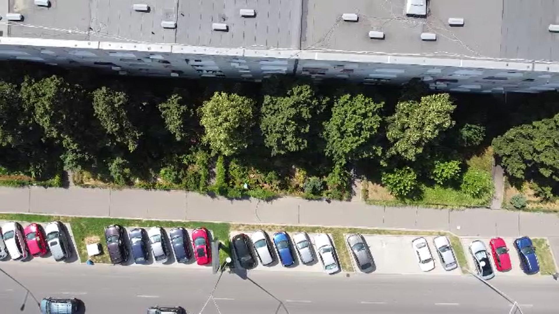 Locuitorii Sectorului 6 din București amenajează micile terenuri din jurul blocului din banii lor