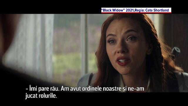 """""""Văduva Neagră"""", cu Scarlett Johansson în rolul Natașei Romanoff, ajunge în cinema"""