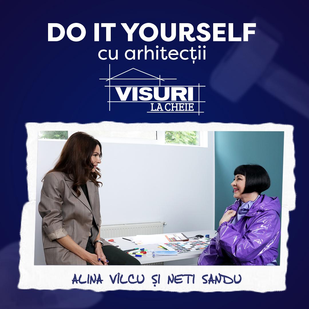 Sfaturile primite de Neti Sandu de la arhitectul Alina Vîlcu. Cum depozităm eficient lucrurile în casă
