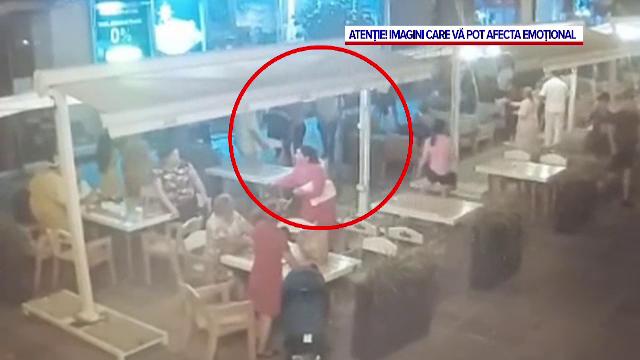 Patru persoane au fost reținute după încăierarea de pe o terasă din Timișoara