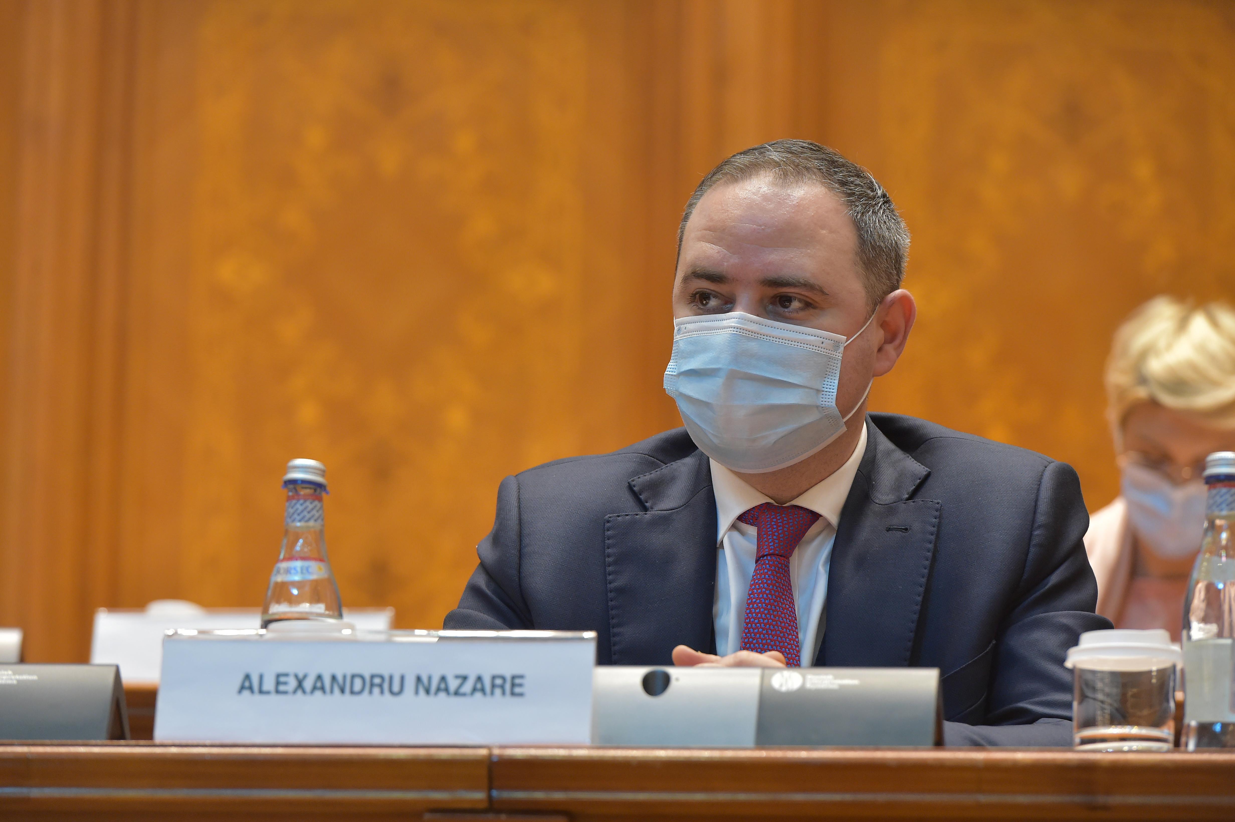 """Alexandru Nazare, după revocare: """"I-am spus prim-ministrului că nu am motive întemeiate să îmi înaintez o demisie"""""""