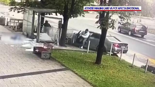 Noi imagini cu accidentul din Baia Mare. Ce s-a întâmplat cu câteva secunde înaintea tragediei