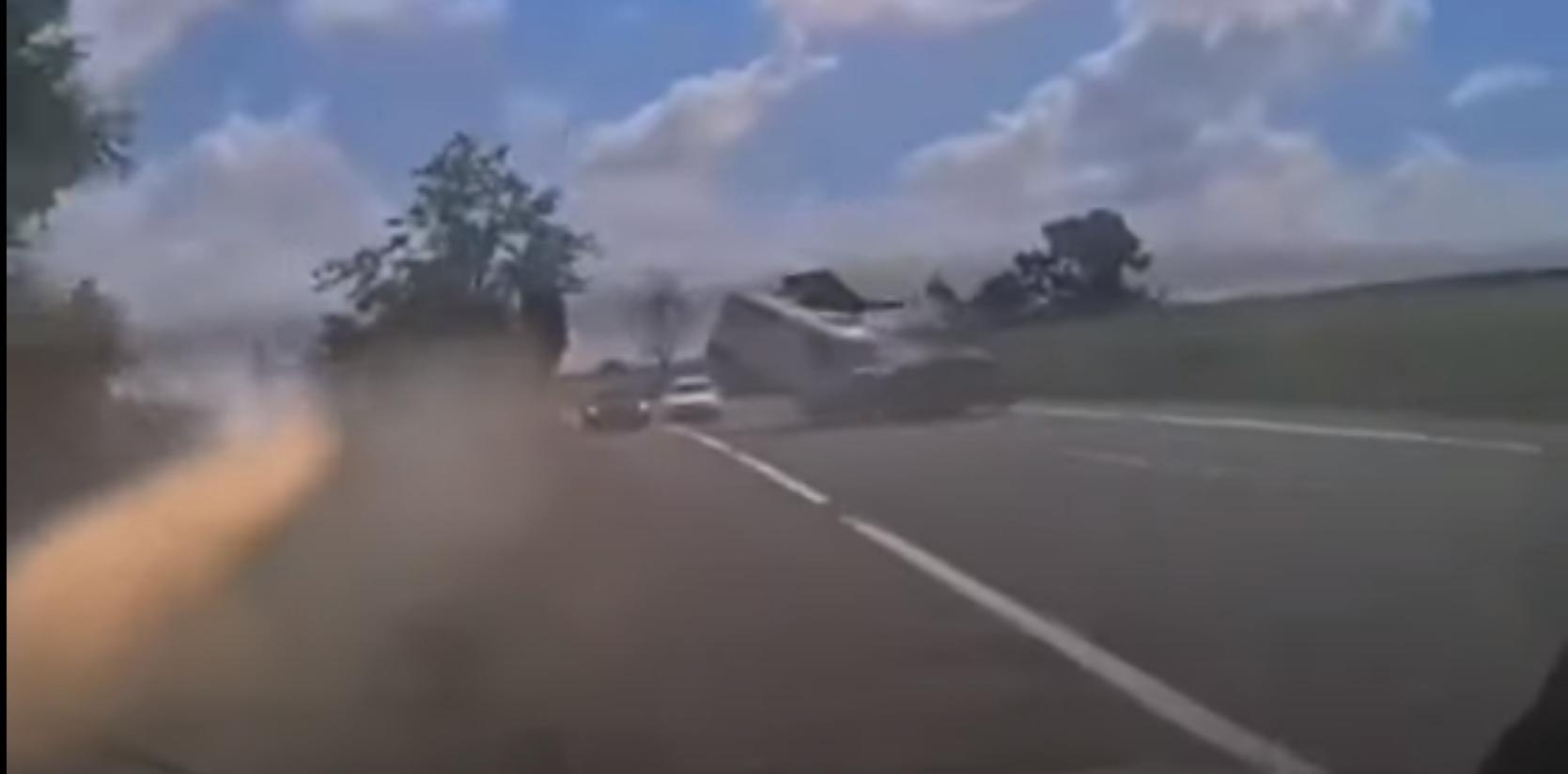 VIDEO. Soț și soție, morți într-un accident grav în Iași
