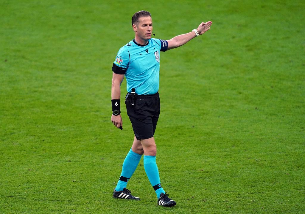 Cine este Daniel Makkelie, arbitrul care a acordat penalty-ul controversat pentru Anglia în semifinala cu Danemarca