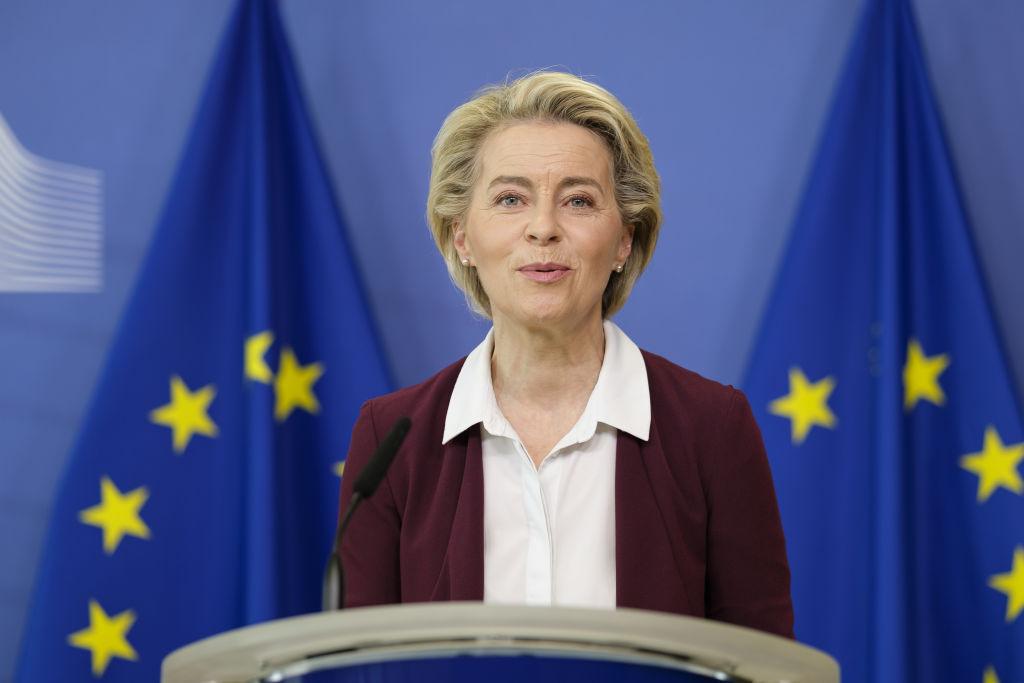 Ursula von der Leyen: UE are suficiente doze pentru a vaccina 70% din populaţia sa adultă