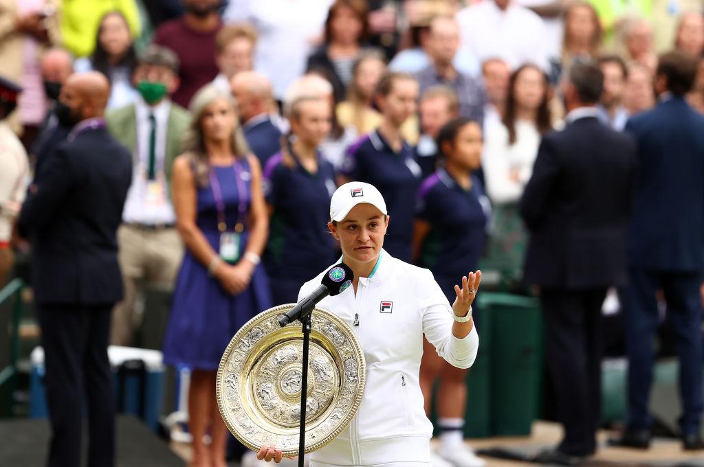 VIDEO. Australianca Ashleigh Barty a câştigat turneul de Mare Şlem de la Wimbledon