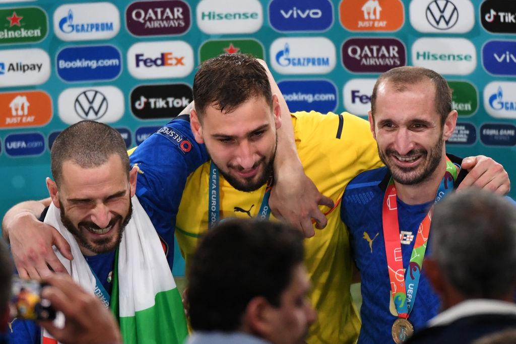 EURO 2020. Fiecare jucător al naționalei Italiei va primi 250.000 euro pentru câștigarea trofeului