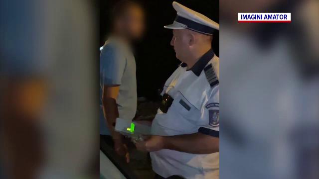 Un poliţist din Timiş, implicat într-un accident, a urcat băut la volan. Ar fi părăsit și locul accidentului