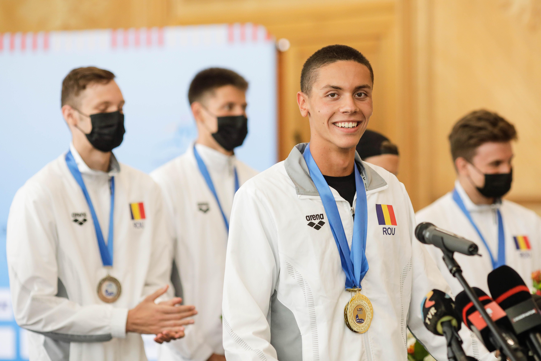David Popovici, campion european la înot: Sunt doar un băiat care înoată repede
