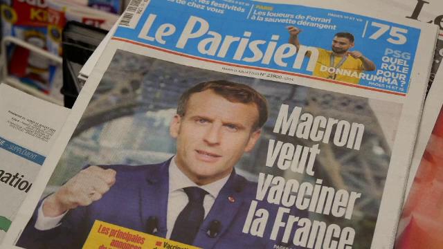 Un milion de francezi s-au programat la vaccinare, după ce Macron a anunțat restricții pentru nevaccinați