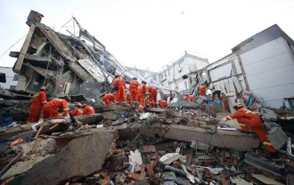 Şaptesprezece morţi în estul Chinei, în urma surpării parţiale a unui hotel la Suzhou