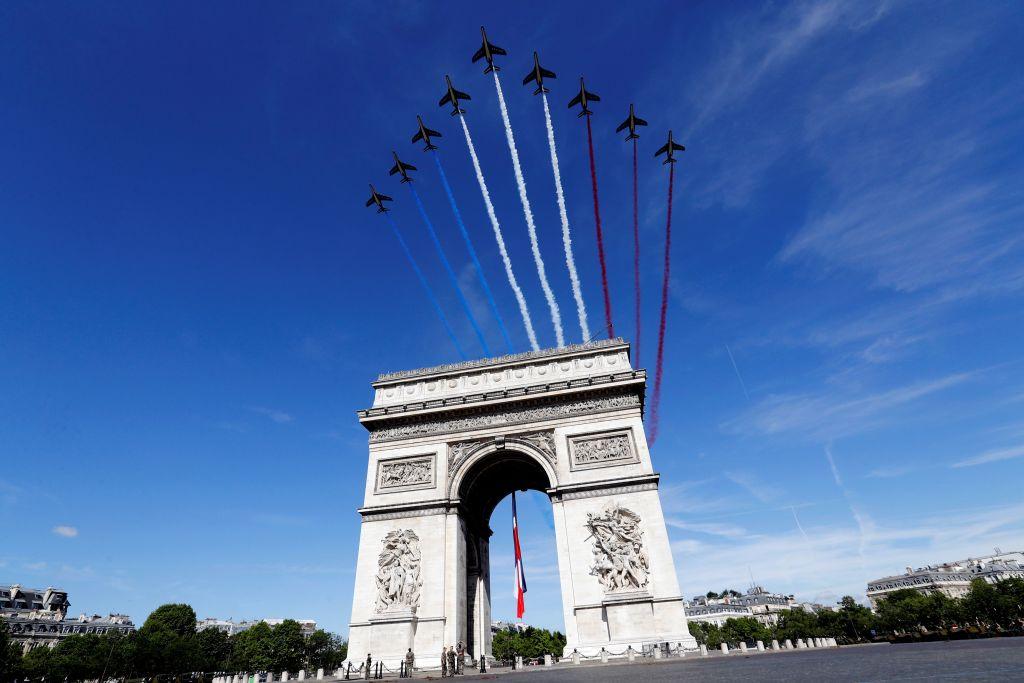 Ziua națională a Franței, marcată cu o paradă militară pe Champs-Elysées. Semnificația zilei de 14 iulie