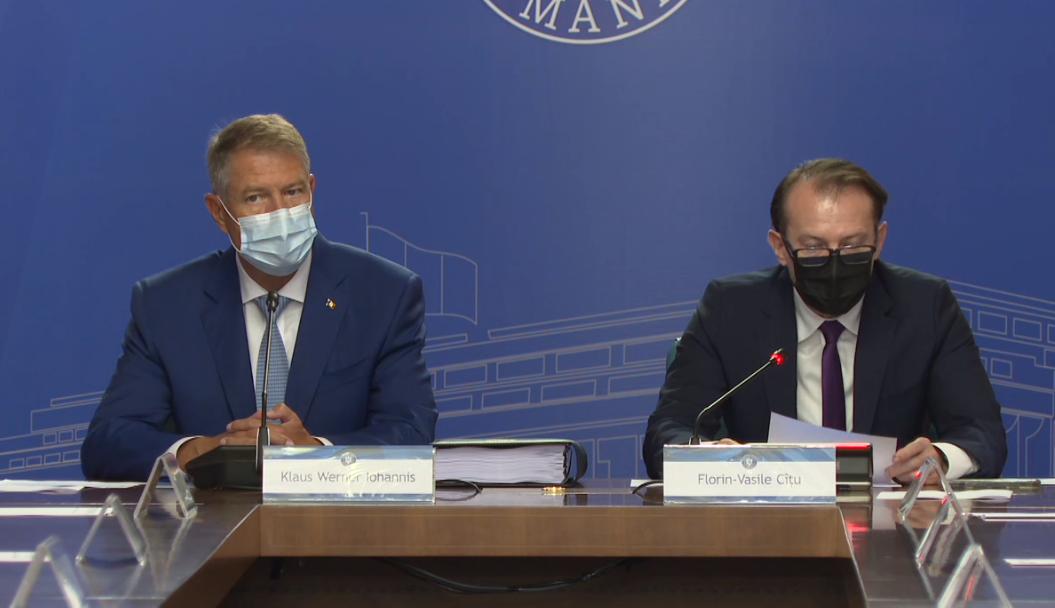 Klaus Iohannis, la ședința de Guvern: Este o zi extrem de importantă pentru viitorul educaţiei