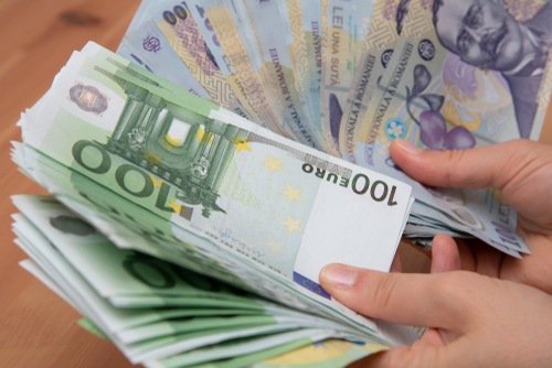Curs BNR: Euro a atins un nou maxim istoric în raport cu leul