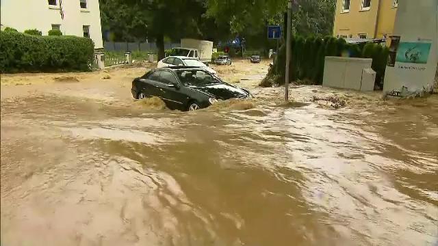 Ploile torențiale fac dezastru în Europa. Peste 40 de oameni au murit în Germania, alte zeci sunt dispăruți