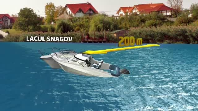Fostul polițist care a intrat cu barca într-un caiac cu 4 tineri poate conduce în continuare