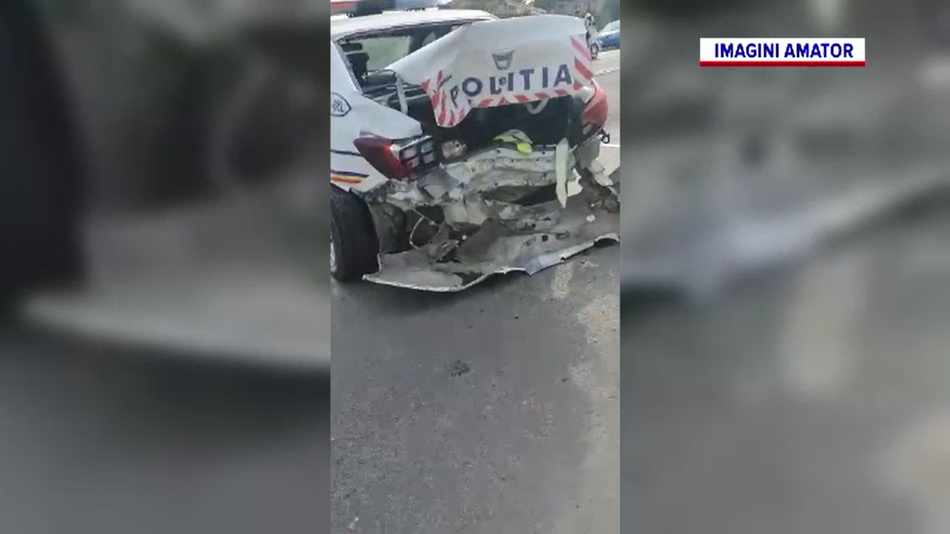 Doi poliţişti din Dolj au fost răniți într-un accident de circulaţie