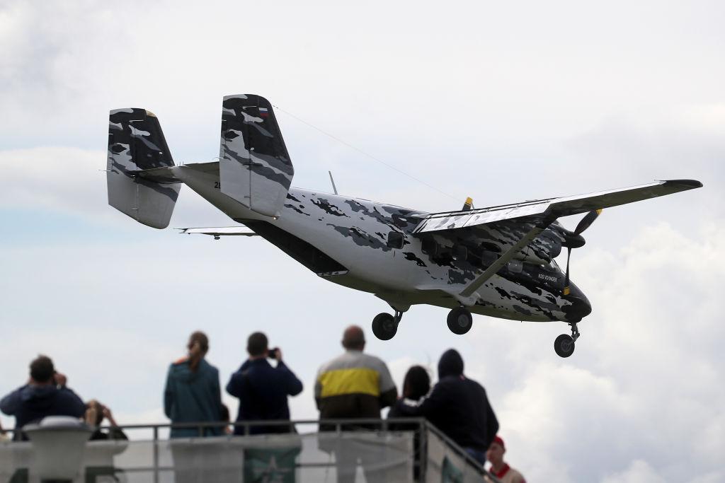 Un avion Antonov AN-28, cu 17 persoane la bord, a dispărut de pe radare și a aterizat forțat