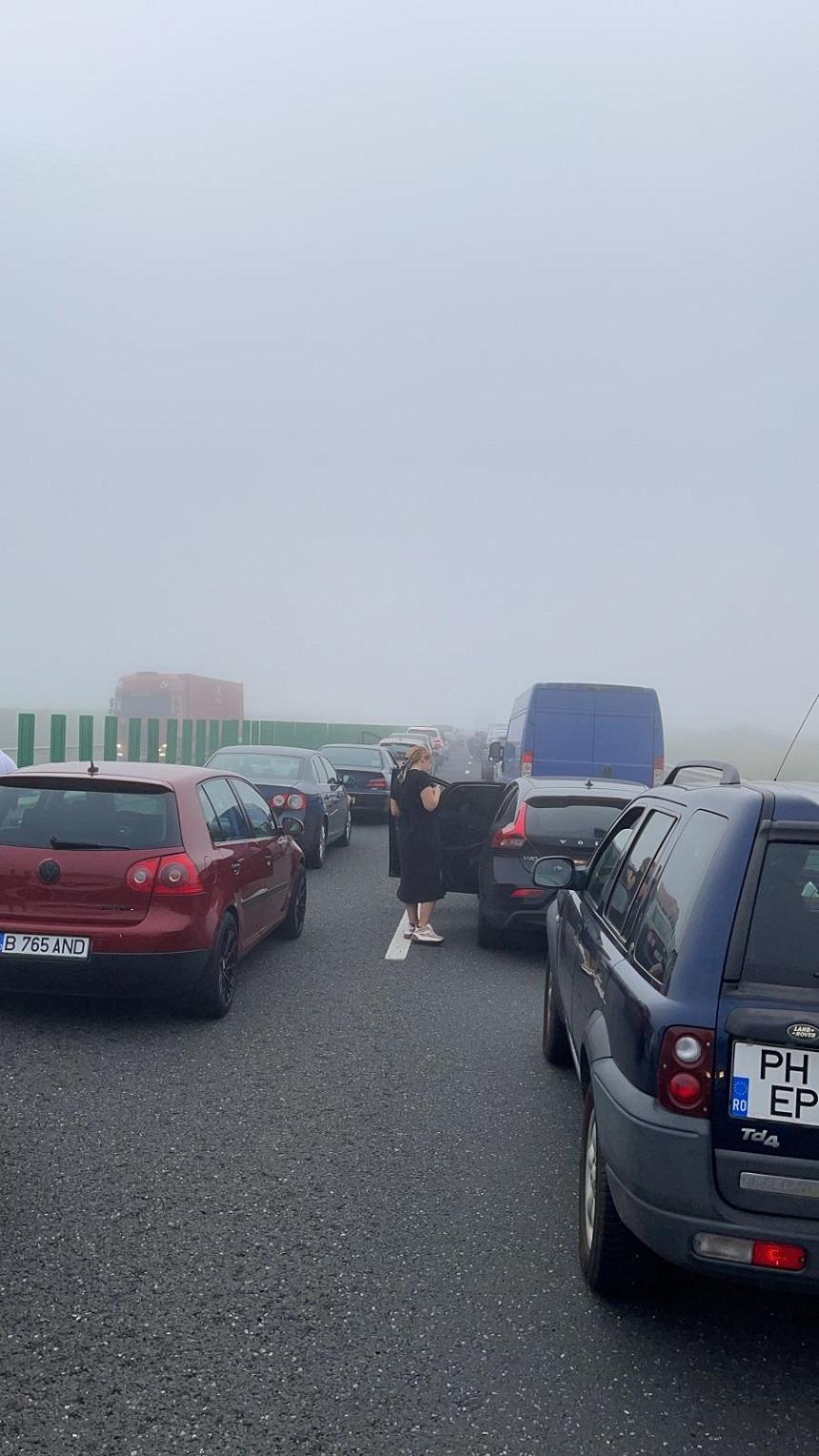 Aglomeraţie pe Autostrada A2 Bucureşti - Constanţa, pe sensul către litoral. Recomandările poliţiştilor