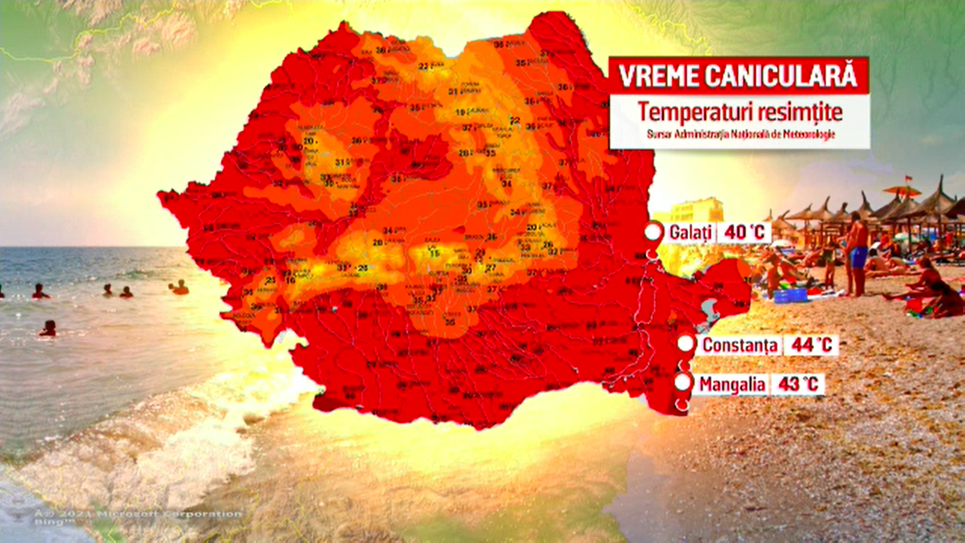 România trece prin zile de foc. Medicii avertizează populația în privința temperaturilor mari