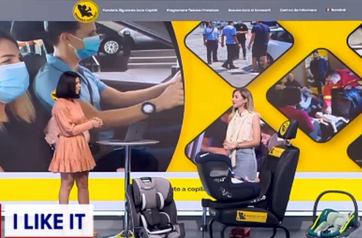 ILikeIT. Cum să-ți alegi scaunul potrivit pentru copilul tău, în mașină. Se poate testa gratuit la impact
