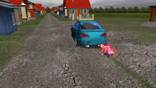ANIMAȚIE GRAFICĂ. Cum a fost strivit cu mașina copilul de 3 ani din județul Brașov, de un adolescent