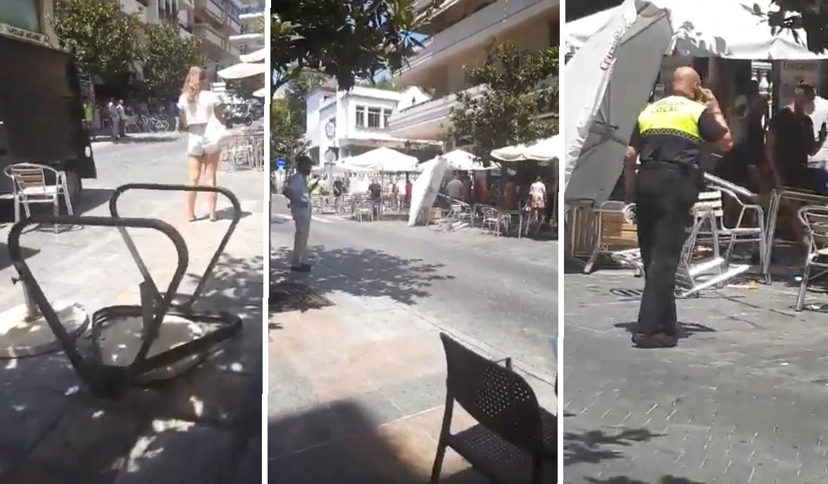 O maşină a intrat în mai multe persoane aflate la terase la Marbella. Cel puţin zece persoane au fost rănite. VIDEO
