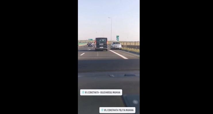 Mai mulţi şoferi întorc pe Autostrada A2 şi circulă pe contrasens. Polițiștii au deschis o anchetă. VIDEO