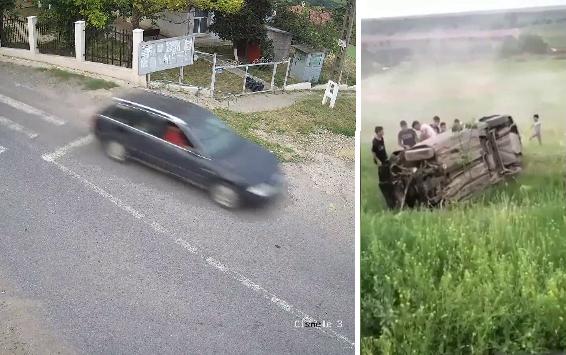 Un tânăr fără permis s-a urcat beat la volan și a fost la un pas să își omoare prietenii și un copil