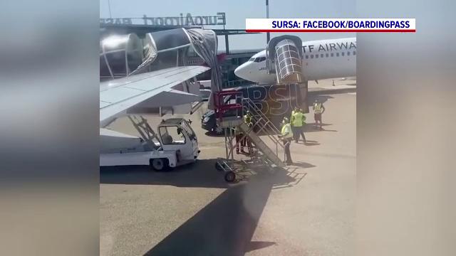 Avion cu români, accident pe aeroportul din Basel. Zborul spre Cluj-Napoca a fost amânat