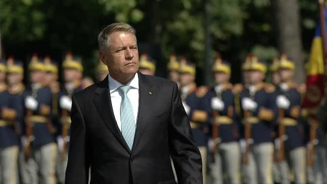 Ceremonie militară în București, cu ocazia încheierii misiunii Armatei României în Afganistan