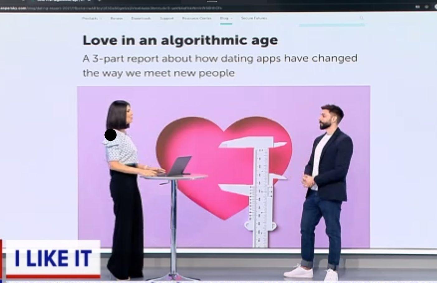 ILikeIT. Inteligența artificială și rolul ei în aplicațiile de dating. E tot mai ușor să găsești online persoana potrivită