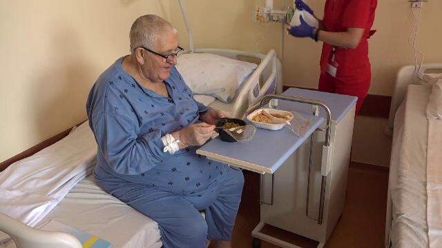 Condiții de lux într-un spital din România. Pacienții primesc mâncare ca la marile restaurante