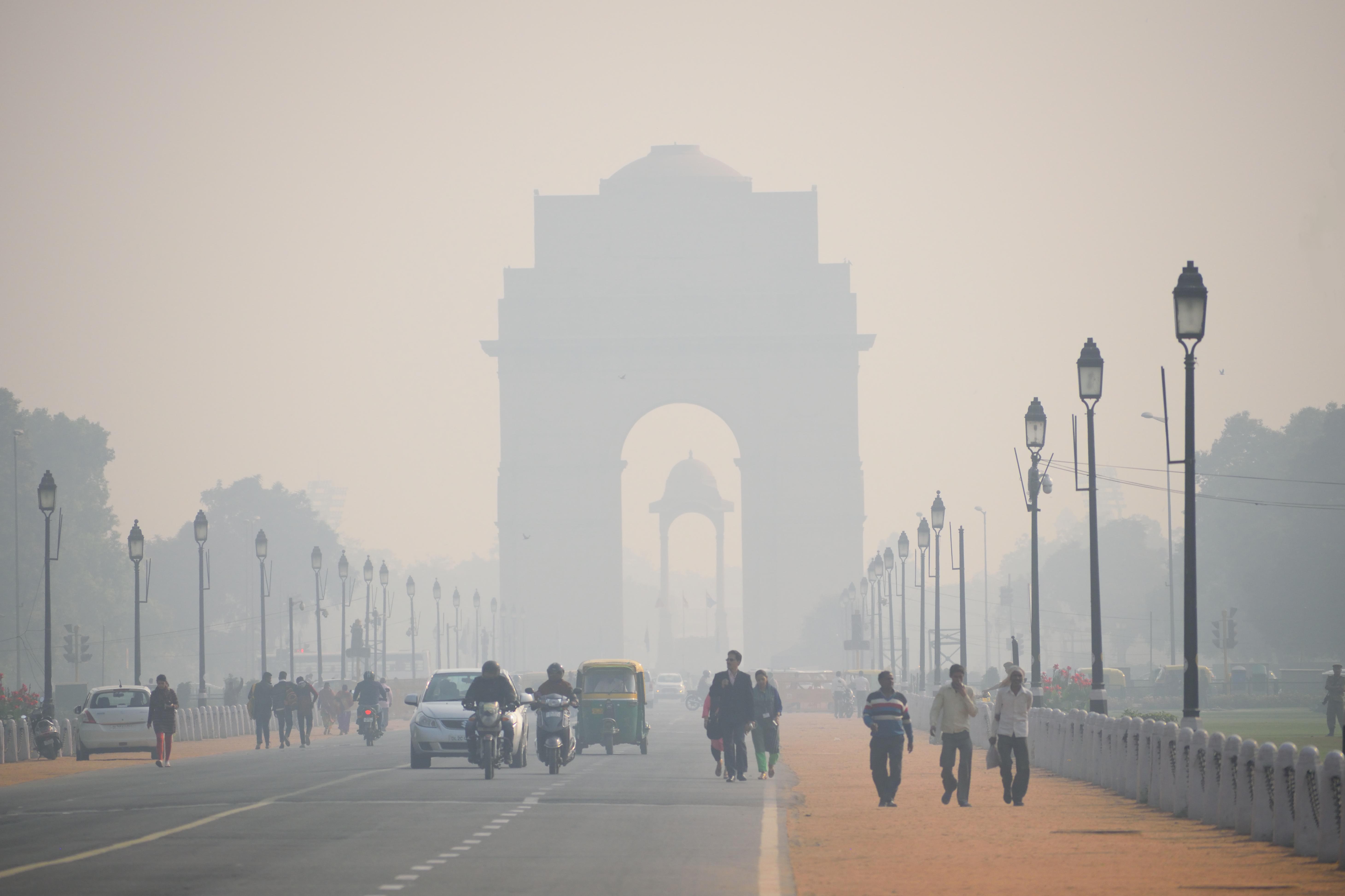India construieşte ventilatoare uriaşe pentru ameliorarea aerului din New Delhi