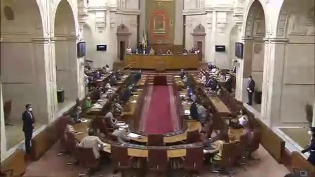 Un șobolan a întrerupt o ședință a Parlamentului, în Spania. Aleșii s-au ridicat de la mese și au început să-l caute