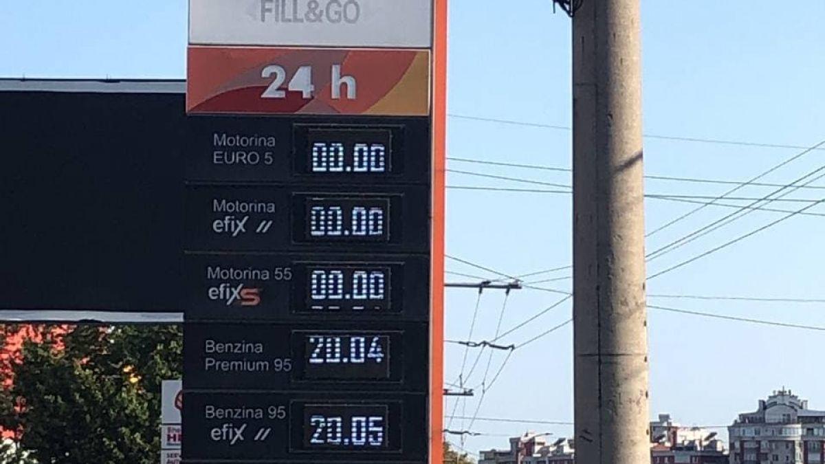 În Republica Moldova nu se mai găsește motorină la benzinării. Autoritățile spun că și explozia de la Petromidia este de vină